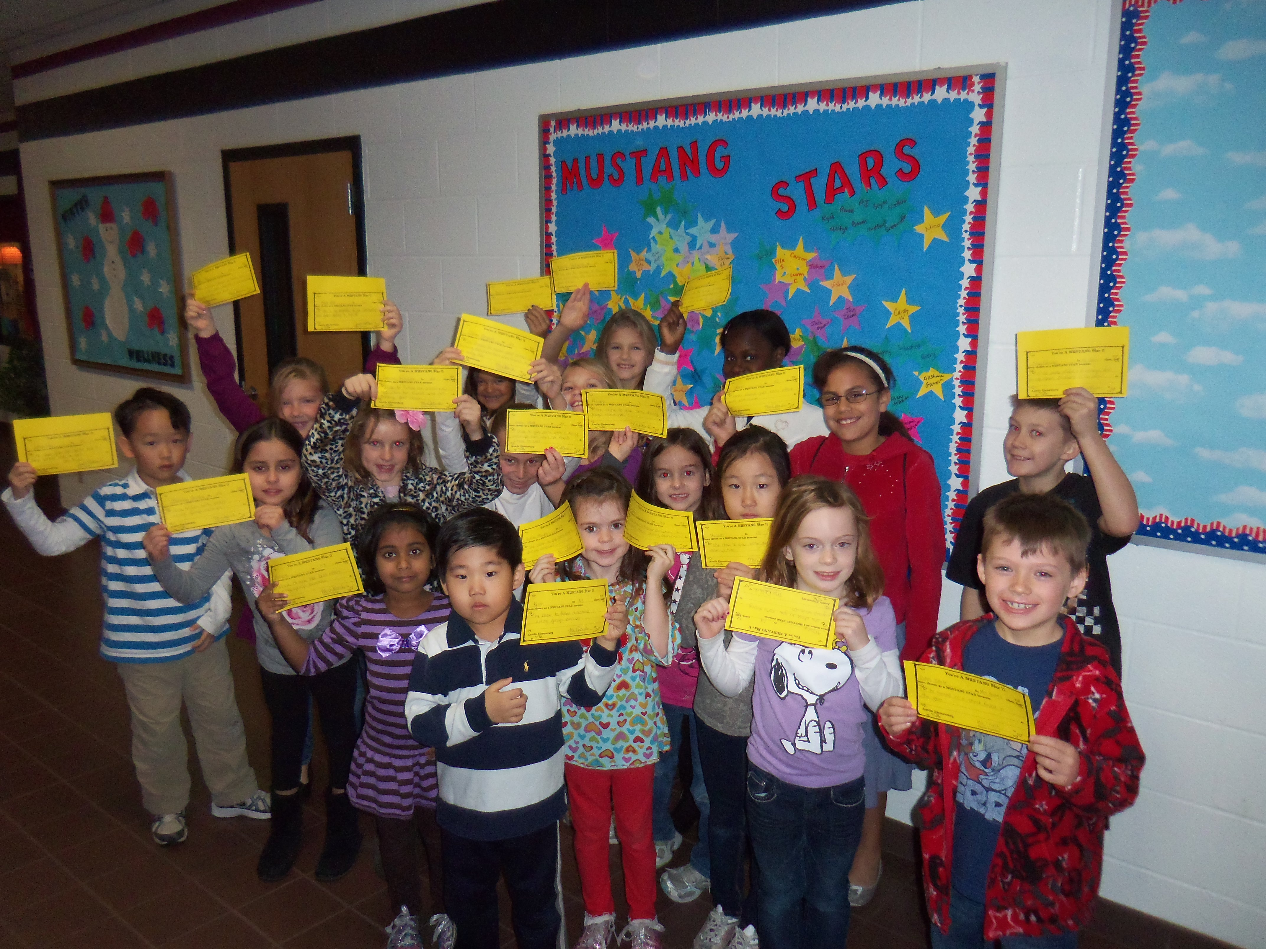 Photo: 'Mustang Stars' at Austin Elementary School - Coppell Features -  McKinney, TX
