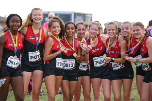 JV Girls Perfect Team Score at Falcon Fast