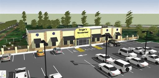 Rendering of New Plano Facility