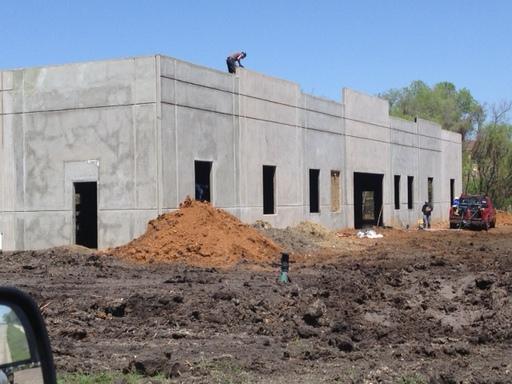 Construction of New Plano Facility
