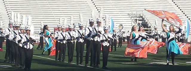 Coppell High School Band Receives Division 1 Rating at UIL Regional Marching Competition