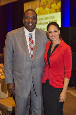 Senator Royce West and Keynote Speaker Soledad O'B