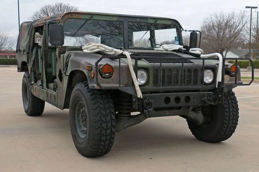 Claymore Operatons Humvee Challenge - Humvee Photo
